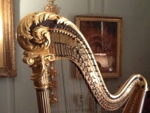 For Sale - Erard Harp No. 1842 - French built in 1880